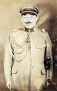 Japanese army colonel portrait 1924