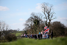 GB Leicestershire Vote Leave March