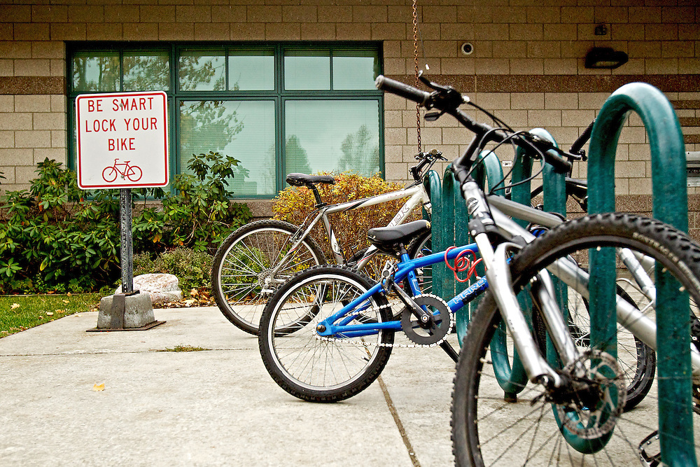 The Post Falls Library is hoping upcoming fundraisers will generate enough money to help build a custom bicycle rack to provide addition spaces for the library's increasing middle school student demographic.