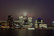 2011 Docklands canary wharf estate isle of dogs docklands London.