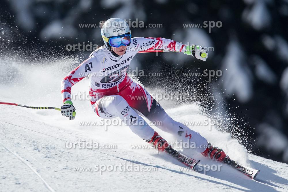 06.03.2015, Kandahar, Garmisch Partenkirchen, GER, FIS Weltcup Ski Alpin, Abfahrt, Damen, 1. Trainingslauf, im Bild Mirjam Puchner (AUT) // Mirjam Puchner of Austria during 1st training run for the ladie's Downhill of the FIS Ski Alpine World Cup at the Kandahar course, Garmisch Partenkirchen, Germany on 2015/03/06. EXPA Pictures © 2015, PhotoCredit: EXPA/ Johann Groder