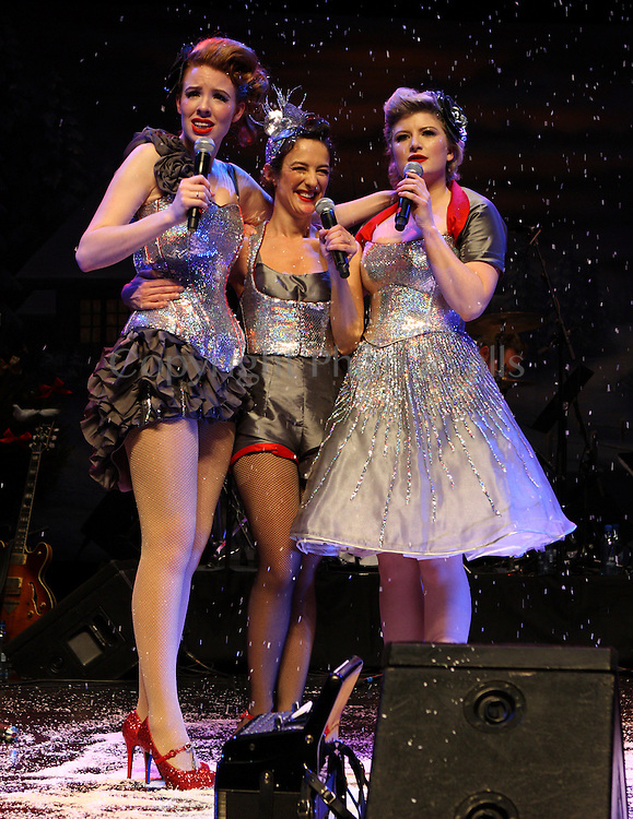 The Puppini Sisters, Queen Elizabeth Hall, London, 28th December 2008.