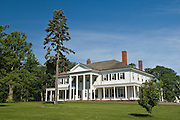 Government House, the official residence of the Lieutenant Governor of PEI; Prince Edward Island, Canada.