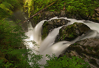 Sol Duc Falls, Olympic National Park, WA, USA