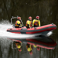 Search and Rescue Operation in Perth…18.03.17 <br />A Scottish Fire and Rescue Water Rescue Team searching the River Tay in Perth this morning after emergency services were alerted to a male spotted in the river at around 4am Saturday 18th March. Police Scotland, Scottish Fire & Recsue Service and HM Coastguard are curently searching trhe River Tay area in Perth for the missing male.<br />Picture by Graeme Hart.<br />Copyright Perthshire Picture Agency<br />Tel: 01738 623350  Mobile: 07990 594431