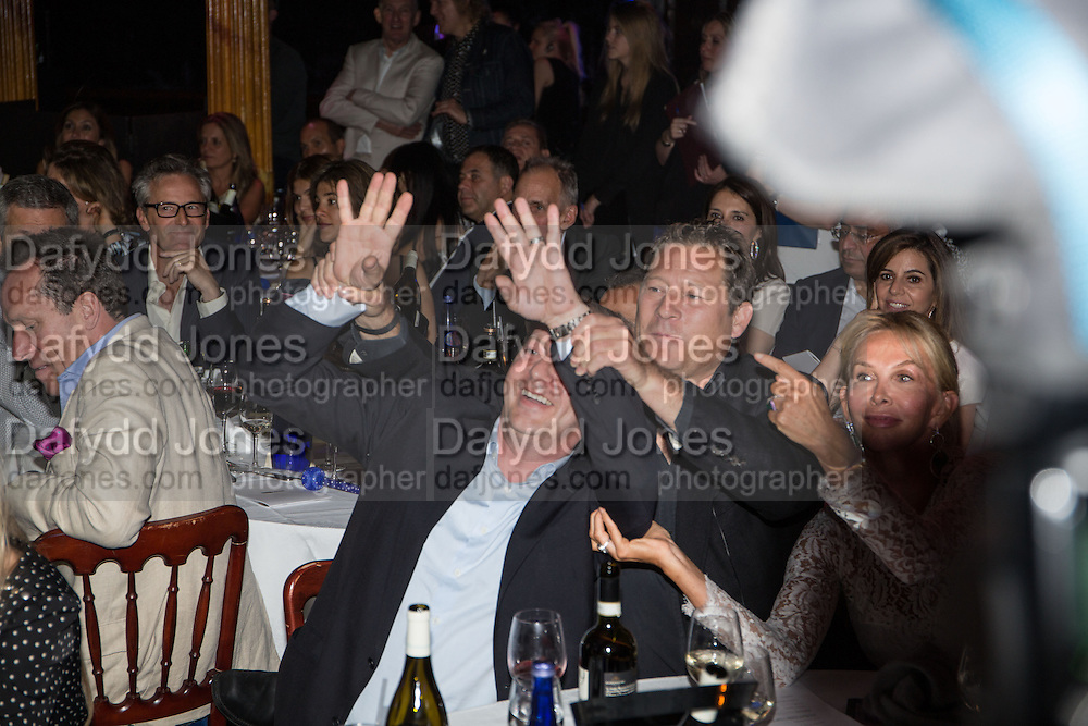 MATTHEW FREUD; ARPAD BUSSON; TRUDIE STYLER, The Hoping Foundation  'Rock On' benefit evening for Palestinian refugee children.  Cafe de Paris, Leicester Sq. London. 20 June 2013