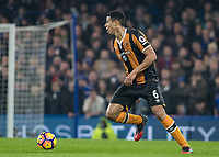 Football - 2016 / 2017 Premier League - Chelsea vs. Hull City <br /> <br /> Curtis Davies of Hull City at Stamford Bridge.<br /> <br /> COLORSPORT/DANIEL BEARHAM