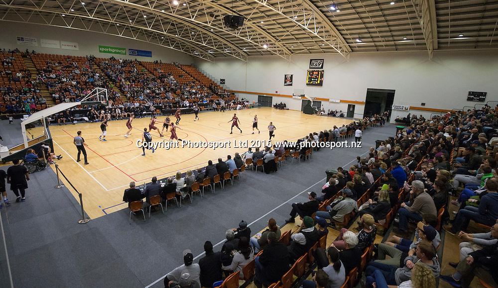 PG Arena. NBL Preseason basketball, NZ Breakers v Brisbane Bullets, PG Arena, Napier, New Zealand. Thursday 16 September, 2016. Copyright photo: John Cowpland / www.photosport.nz
