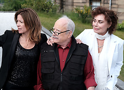 Edinburgh International Film Festival 2019<br /> <br /> Astronaut (World Premiere)<br /> <br /> Pictured:  Shelagh McLeod, Richard Dreyfuss and Mimi Kuzyk<br /> <br /> Alex Todd | Edinburgh Elite media