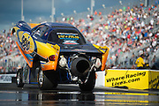 April 22-24, 2016: NHRA 4 Wide Nationals: NHRA jet dragster