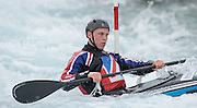 Waltham Cross, United  Kingdom,  Men's K1, Joe CLARKE, training before the British Canoeing, Olympic Team  Announcement, for 2016 Rio Olympics.  Lee Valley White Water Centre, Hertfordshire, UK  on Wednesday  04/11/2015  <br /> <br /> [Mandatory Credit: Peter SPURRIER: Intersport Images]