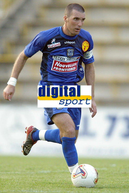 Fotball<br /> Frankrike<br /> Oppkjøring til den franske ligaen 2003/2004<br /> Foto: DPPI/Digitalsport<br /> <br /> NORWAY ONLY<br /> <br /> FOOTBALL - SEASON 2003/2004 - FRIENDLY GAME - BASTIA v ETOILE DU SAHEL - 030715 - LAURENT BATTLES (BAS) - PHOTO JEAN-MARIE HERVIO / FLASH PRESS