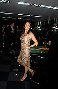 Mimi Rogers. Opening Night Party of the first  cards tournament hosted by online poker website World Poker Exchang. Old Billingsgate Market, London. 3 August 2005. ONE TIME USE ONLY - DO NOT ARCHIVE  © Copyright Photograph by Dafydd Jones 66 Stockwell Park Rd. London SW9 0DA Tel 020 7733 0108 www.dafjones.com