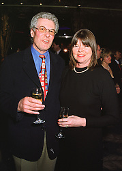 MR & MRS RICHARD BIFFA he is the waste disposal multi millionaire, at a party in London on 19th March 1998.MGD 21
