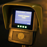 The Smart Card device at ScotRail's Dunkeld & Birnam railway station which allegedly doesn't work…01.12.16<br />Picture by Graeme Hart.<br />Copyright Perthshire Picture Agency<br />Tel: 01738 623350  Mobile: 07990 594431