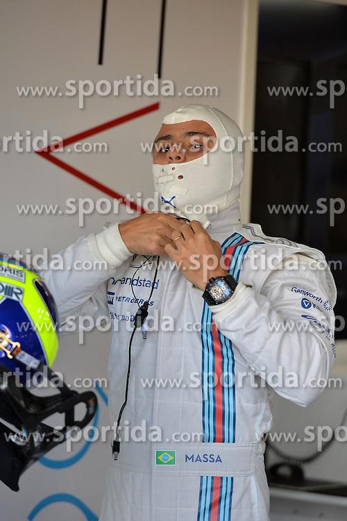 04.07.2014, Silverstone Circuit, Silverstone, ENG, FIA, Formel 1, Grand Prix von Grossbritannien, Training, im Bild Felipe Massa (BRA) Williams Martini Racing // during the practice of British Formula One Grand Prix at the Silverstone Circuit in Silverstone, Great Britain on 2014/07/04. EXPA Pictures &copy; 2014, PhotoCredit: EXPA/ Sutton Images<br /> <br /> *****ATTENTION - for AUT, SLO, CRO, SRB, BIH, MAZ only*****