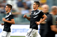 Cristiano Ronaldo of Juventus during the warm up prior to the Serie A 2018/2019 football match between Juventus and Genoa CFC at Allianz Stadium, Turin, October, 20, 2018 <br />  Foto Andrea Staccioli / Insidefoto