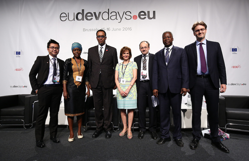 20160615 - Brussels , Belgium - 2016 June 15th - European Development Days - Working together in fragile states for better effectiveness © European Union