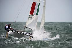 21. August 2008 Olympic Games Beijing / Qingdao Sailing Tordano Class Olympic Medal Race photographed by Jürg Kaufmann