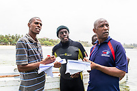 WIO-COMPAS assessment and marine ranger interaction, Mombasa Marine Protected Area, Kenya