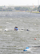 Holme Pierrepont,  GREAT BRITAIN, general view down the course as the eights compete in the morning procesional race,  at the 2008 National Schools Regatta, Nottingham, , ENGLAND,    Saturday,  24/05/2008  [Mandatory Credit:  Peter Spurrier/Intersport Images]