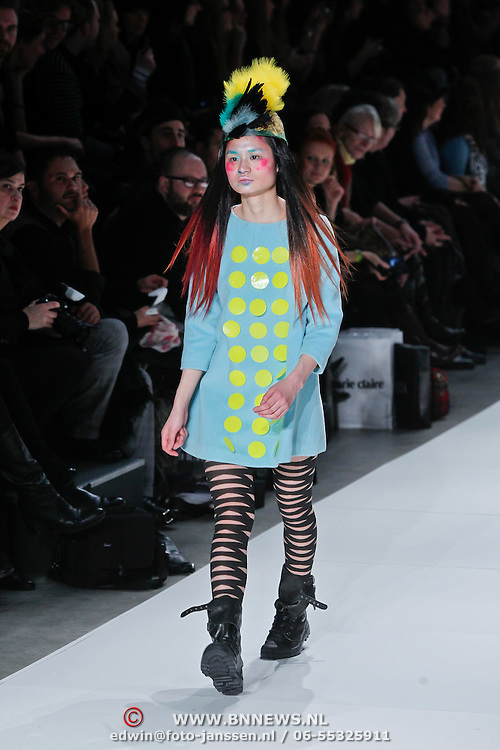 NLD/Amsterdam/20110127 - AIFW winter 2011, show Bas Kosters,