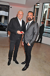 Left to right, ALEXANDER LEBEDEV and EVGENY LEBEDEV at a dinner in aid The Journalism Foundation held at Philips De Pury & Company, Howick Place, London, SW1 on 22nd May 2012.