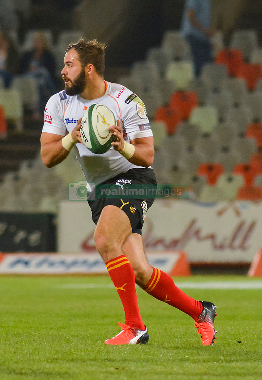 Niel Marais of the Free State Cheetahs during the Currie Cup Premier division match between the The Free State Cheetahs and the Lions held at Toyota Stadium (Free State Stadium), Bloemfontein, South Africa on the 15th September 2016<br /> <br /> Photo by:   Frikkie Kapp / Real Time Images