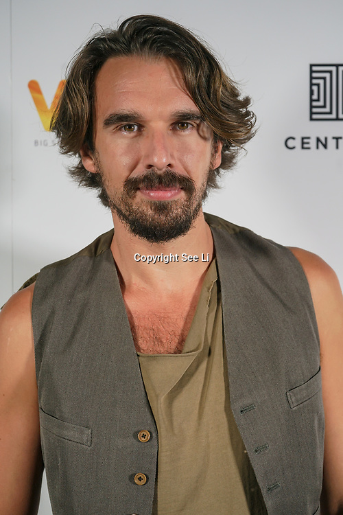 London, England, UK. 28th September 2017. Edward Akrout actor of Trendy attend Raindance Film Festival Screening at Vue Leicester Square, London, UK.