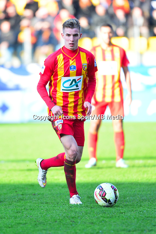 Benjamin BOURIGEAUD - 04.01.2014 - Lens / Lyon - Coupe de France<br />