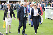 Trainer Gay Kelleway with connections before winning The British EBF Frank Whittle Partnership Fillies Handicap Stakes over 7f (£20,000) with YEAH BABY YEAHat the York Dante Meeting at York Racecourse, York, United Kingdom on 18 May 2018. Picture by Mick Atkins.