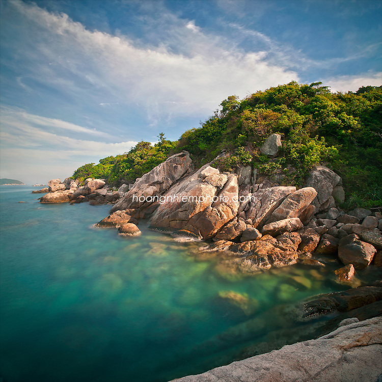 Vietnam Images-cu lao Cham island is a destination of Hoian city-middle vietnam hoàng thế nhiệm