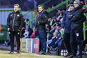 Forest Green Rovers manager, Mark Cooper during the EFL Sky Bet League 2 match between Forest Green Rovers and Port Vale at the New Lawn, Forest Green, United Kingdom on 6 January 2018. Photo by Shane Healey.