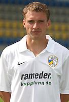 2.Bundesliga ; Saison 2006/2007 ; 110706 ; Teampraesentation Carl Zeiss Jena  Das Team von Carl Zeiss Jena praesentiert sich im Ernst Abbe Stadion.  Christian FROEHLICH (JENA)