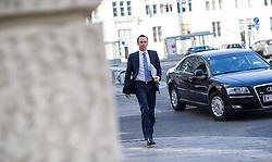 14.03.2014, OeVP Bundespartei, Wien, AUT, OeVP, Vorstandssitzung der OeVP Bundespartei. im Bild Staatssekretaer fuer Finanzen Jochen Danninger (OeVP) // State Secretary of Finances Jochen Danninger (OeVP) before board meeting of OeVP at federal party of OeVP in Vienna, Austria on 2014/03/14. EXPA Pictures © 2014, PhotoCredit: EXPA/ Michael Gruber