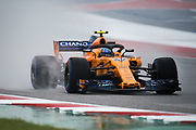 October 18-21, 2018: United States Grand Prix.   Lando Norris, McLaren Renault, MCL33
