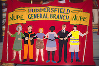 National Union of Public Employees Huddersfield General branch banner ....