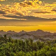 Moonworld landscape, Erliao, Tainan, Taiwan