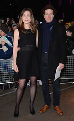 Anna Maderley and Geoffrey Streatfeild  attend The 10th What's On Stage Awards at The Prince Of Wales Theatre, London on Sunday 15  February 2015