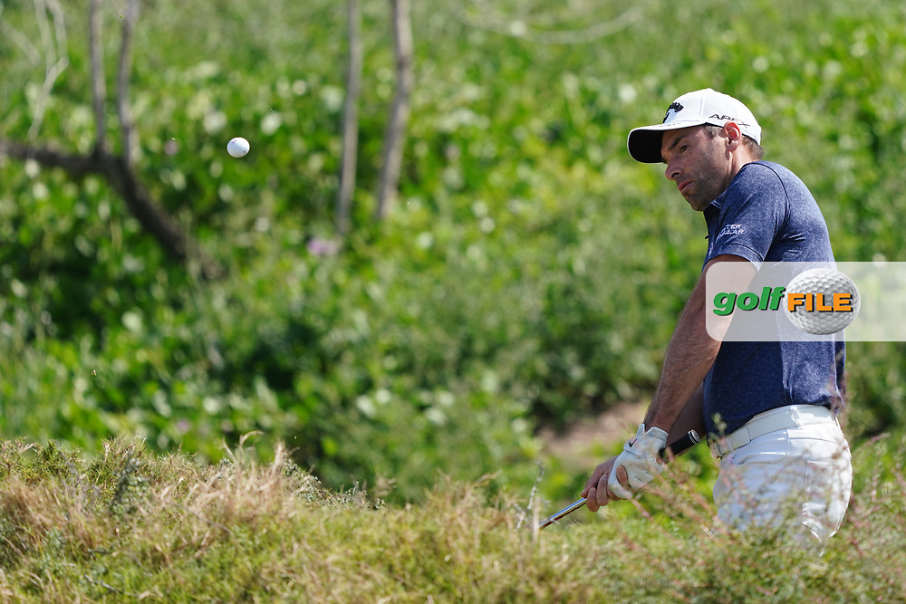 Oliver Wilson (ENG) on the 2nd during Round 2 of the Oman Open 2020 at the Al Mouj Golf Club, Muscat, Oman . 28/02/2020<br /> Picture: Golffile   Thos Caffrey<br /> <br /> <br /> All photo usage must carry mandatory copyright credit (© Golffile   Thos Caffrey)