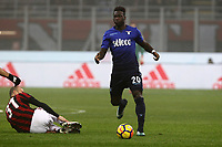 Milan-Lazio - Serie A 22a giornata - Nella foto : Felipe Caicedo - Calcio Serie A - Lazio