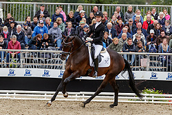BEHR Denise (GER), L´Avion<br /> Warendorf - Bundeschampionate 2019<br /> Reitpferde<br /> Finale 3jährige Stuten und Wallache<br /> 08. September 2019<br /> © www.sportfotos-lafrentz.de/Stefan Lafrentz