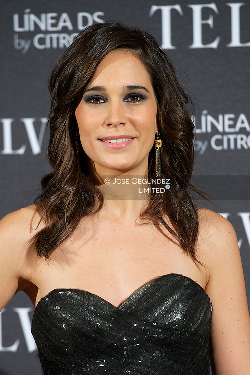 Celia Freijeiro attends Telva Awards 2012 at Hotel Palace on November 6, 2012 in Madrid, Spain
