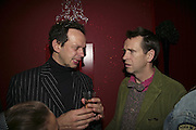 Tom Dixon and Oliver Peyton, Solange Azagury-Partridge launches her  perfume plus her new jewellery collection at her store in Westbourne Grove. London. 14 November 2006. ONE TIME USE ONLY - DO NOT ARCHIVE  © Copyright Photograph by Dafydd Jones 66 Stockwell Park Rd. London SW9 0DA Tel 020 7733 0108 www.dafjones.com