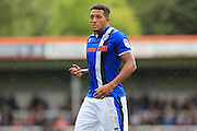 Nathaniel Mendez-Laing during the EFL Sky Bet League 1 match between Rochdale and Milton Keynes Dons at Spotland, Rochdale, England on 20 August 2016. Photo by Daniel Youngs.