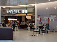 Epicerie Boulus coffee shop at the Calatrava Oculus in Battery Park City.