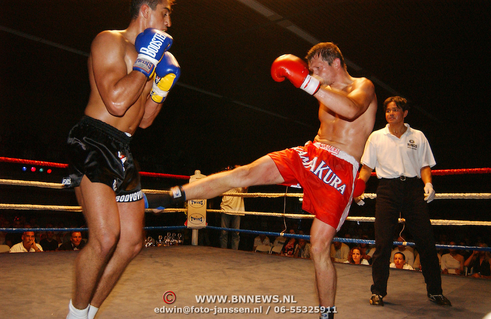 Kickboksgala Hilversum, Schaap - Mutlu