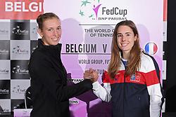 February 8, 2019 - Liege, France - Elise MERTENS, Alize CORNET (Credit Image: © Panoramic via ZUMA Press)