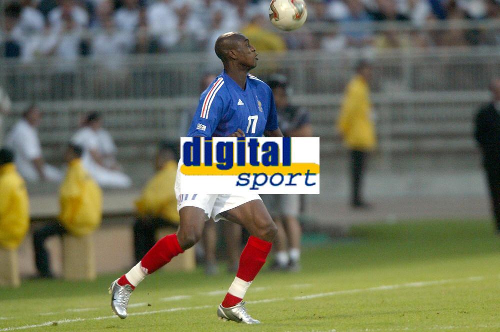 FOOTBALL - CONFEDERATIONS CUP 2003 - GROUP A - 030618 - FRANKRIKE v COLOMBIA - OLIVIER KAPO (FRA) - PHOTO GUY JEFFROY / DIGITALSPORT