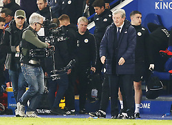 February 23, 2019 - Leicester, England, United Kingdom - Crystal Palace manager Roy Hodgson .during English Premier League between Leicester City and Crystal Palace at King Power stadium , Leicester, England on 23 Feb 2019. (Credit Image: © Action Foto Sport/NurPhoto via ZUMA Press)